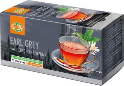 Чай черный Глобус earl grey 25 пакетиков