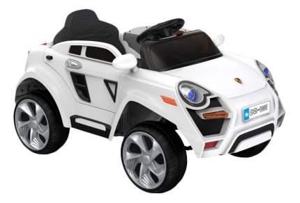 Электромобиль 1TOY Porsche Cayenne белый т11042