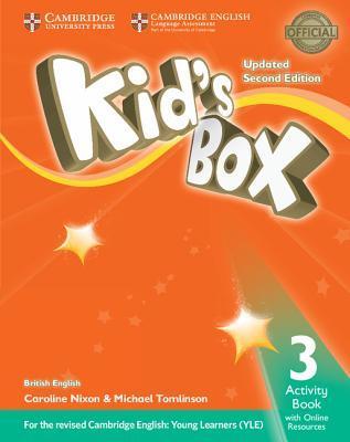 Kid's Box Upd 2Ed 3 AB +Online Res