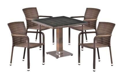 Комплект мебели Afina Garden T503SG/A2001G-W1289 Pale (4+1)