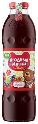 Морс Ягодный Мишка Черная и красная смородина с 3 лет 750 мл