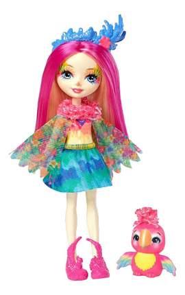 Кукла Enchantimals с любимой зверюшкой пикки Какаду