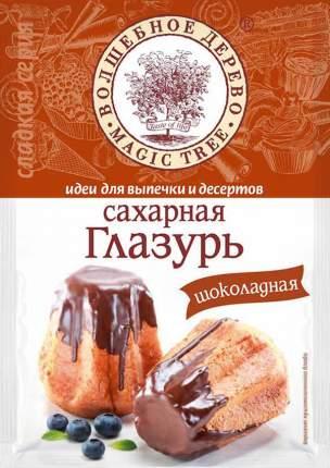 Глазурь сахарная Волшебное дерево шоколадная 75 г