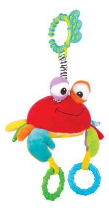 Подвесная игрушка Краб Чарми 0+ Happy Snail 14HS013PK