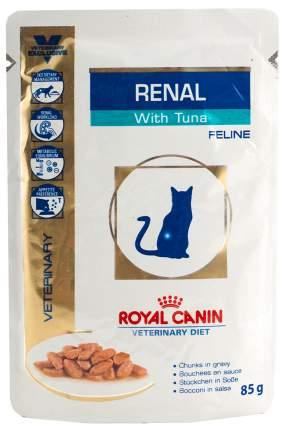 Влажный корм для кошек ROYAL CANIN Vet Diet Renal, рыба, 12шт, 85г