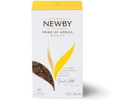 Чай черный Newby pride of Africa 25 пакетиков