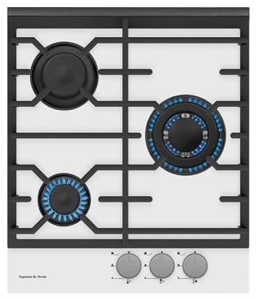 Встраиваемая варочная панель газовая Zigmund & Shtain MN 135.451 W White