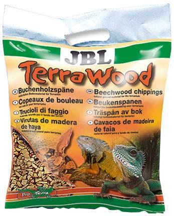 JBL TerraWood - Буковая щепа, донный субстрат для сухих и полусухих террариумов, 5 л