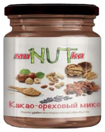 Паста МиNUTка урбеч микс орех и какао 200 г