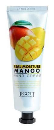 Крем для рук Jigott Real Moisture с экстрактом манго 100 мл