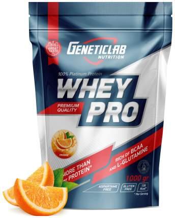 Протеин GeneticLab Nutrition Whey Pro 1000 г Orange
