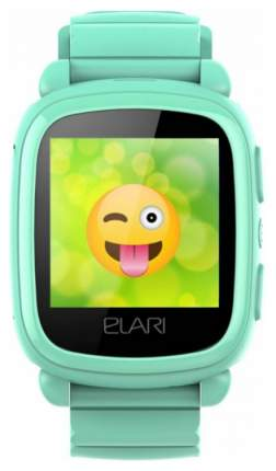 Детские смарт-часы ELARI KidPhone 2 Green/Green (KP-2)