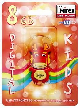 USB-флешка MIREX Dragon 8GB Red (13600-KIDDAR08)