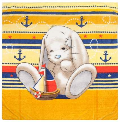 Одеяло детское Крошкин дом Мой зайка оранжевый 100х110