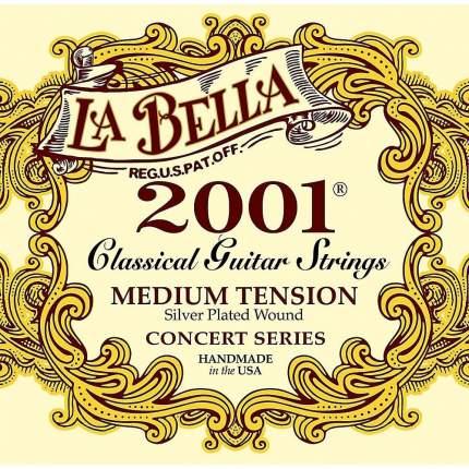 Струны для классической гитары LA BELLA 2001M