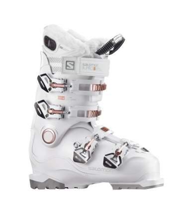 Горнолыжные ботинки Salomon X Pro 100 W Custom Heat 2018, white/corail, 25