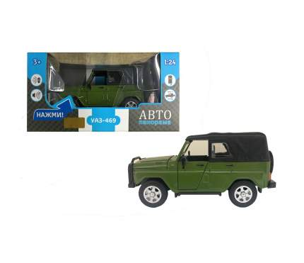 Машинка металлическая Автопанорама УАЗ-469 масштаб 1:24 JB1200214