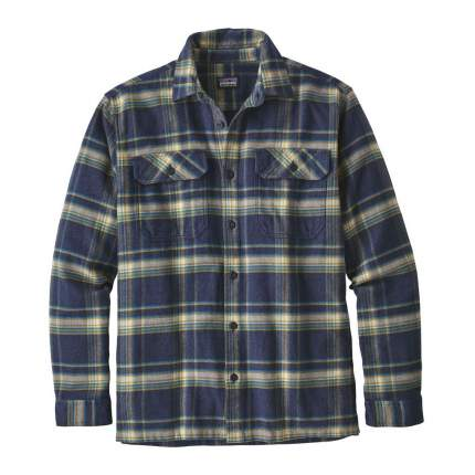 Рубашка Patagonia Flord Flannel, activist navy blue, L INT