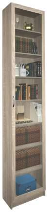 Шкаф книжный MFMaster Милан-47 MAS_MST-BDM-47-R-16-DS 50х30х240, дуб сонома