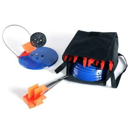 Комплект жерлиц оснащенных в сумке, диаметр круга 195 мм, диаметр катушки 75 мм