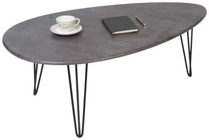 Журнальный столик Мебелик Шеффилд 2581 120х70х44,6 см, серый бетон