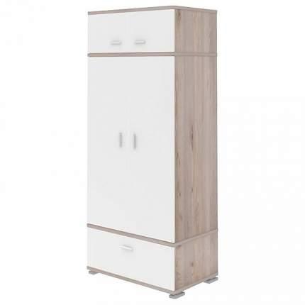 Платяной шкаф Мэрдэс Домино КС-20 MER_KS-20_NBE 90x57,1x213, нельсон