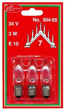 Лампочка Star trading Цвет свечения: Теплый (до 3500 К) 3 шт 304-55