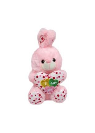 Мягкая игрушка Shantou Gepai Пушистый друг Зайчик с сердечком