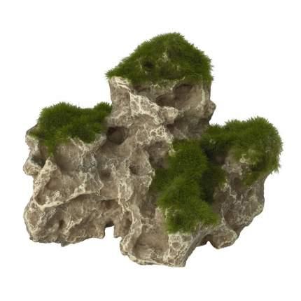 Камень для аквариума AQUA DELLA Moss Rock 3, полиэфирная смола, 9х17х25 см