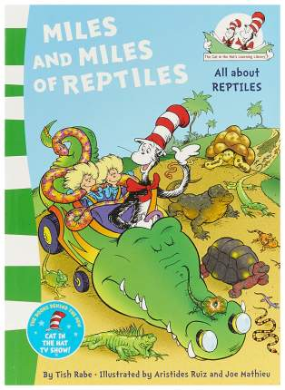 "Книга Harper Collins Publishers Dr. Seuss ""Miles and Miles of Reptiles"""