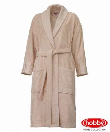 Банный халат HOBBY home collection Aundria персиковый M