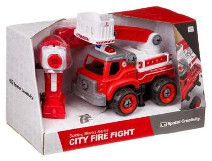 """Конструктор-машина на радиоуправлении """"City Fire Fight"""""""