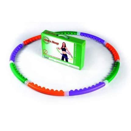 Гимнастический обруч EuroHoop 90 см разноцветный