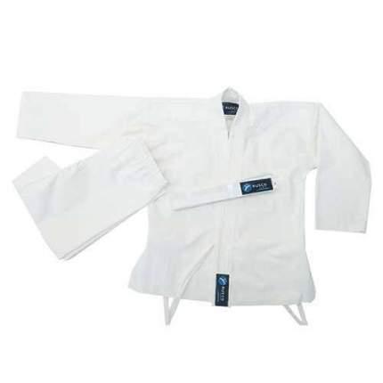 Кимоно карате для начинающих ES-0497 рост 150 (белое)