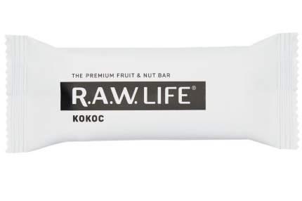 Орехово-фруктовый батончик R.A.W. LIFE кокос 47 г