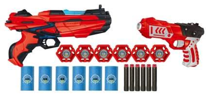 Бластер Junfa toys с мягкими снарядами 40 штук