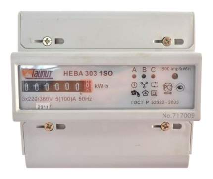 Счетчик электроэнергии НЕВА 303 1S0
