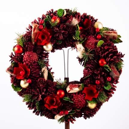 Венок новогодний Подарки и сувениры, 34 см