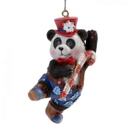 Елочная игрушка Феникс Present панда, 4х3х7 см