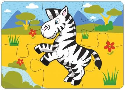 Пазл Мастер игрушек зебра 6 деталей