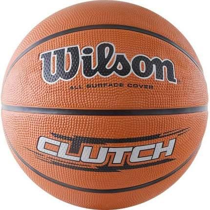 Мяч баскетбольный Wilson Clutch, 7, оранжевый