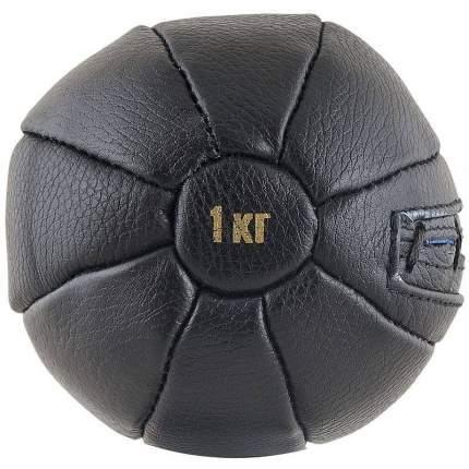 Медицинбол FS№1000 1 кг черный