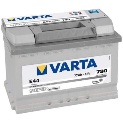 Аккумулятор VARTA Silver E44 77R 780A 278x175x190 577400078