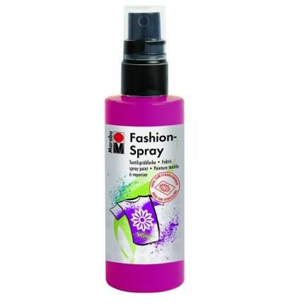 Краска-спрей Marabu Fashion Spray Для ткани 171950005 малина 100 мл