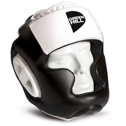 Шлем Green Hill Poise черный/белый S