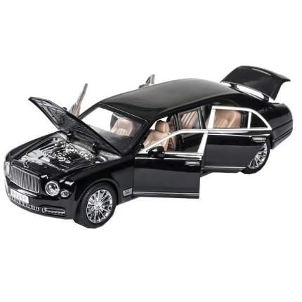Машина инерционная Cars Представительский седан BENT черный, 21.5 см