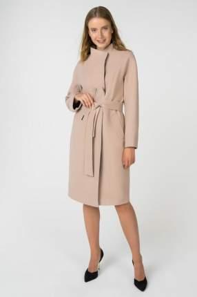 Пальто женское ElectraStyle 3-8108-128 коричневое 48 RU