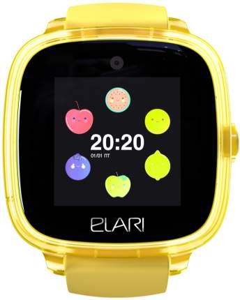 Детские смарт-часы ELARI Kidphone Fresh Yellow/Yellow