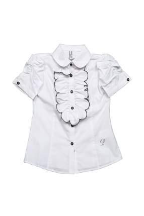 Блузка детская Comusl, цв. белый, р-р 140