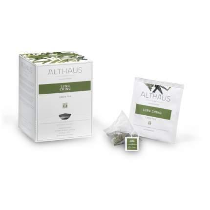 Чай зеленый в пирамидках Althaus Lung Ching Лунг Чинг 15*2.75 г